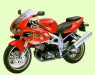 Suzuki TL 1000S 1998 - Rote Version - Dekorset