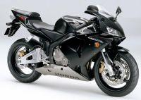 Honda CBR 600RR 2003 - Schwarze Version - Dekorset