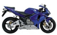Honda CBR 600RR 2003 - Blaue Version - Dekorset