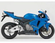 Honda CBR 600RR 2005 - Blaue Version - Dekorset