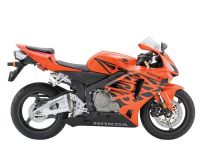 Honda CBR 600RR 2005 - Tribal Orange Version - Dekorset