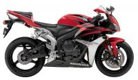 Honda CBR 600RR 2007 - Rote US Version - Dekorset