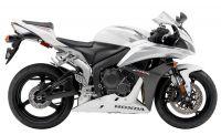 Honda CBR 600RR 2007 - Weiß/Schwarz/Silber Version - Dekorset