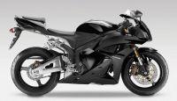 Honda CBR 600RR 2012 - Schwarze Version - Dekorset