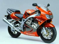 Honda CBR 919RR 1998 - Orange/Graue Version - Dekorset
