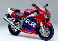 Honda CBR 919RR 1998 - Rot/Lila Version - Dekorset