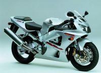 Honda CBR 929RR 2001 - Silber Version - Dekorset