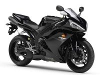 Yamaha YZF-R1 RN19 2007 - Black EU Version - Decalset