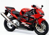 Honda CBR 954RR 2002 - Rote Version - Dekorset