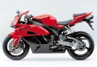 Honda CBR 1000RR 2004 - Rot/Schwarze Version - Dekorset