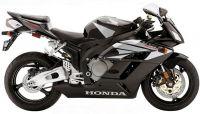 Honda CBR 1000RR 2004 - Schwarze Version - Dekorset