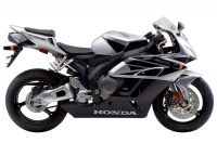 Honda CBR 1000RR 2004 - Silber Version - Dekorset