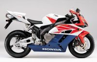 Honda CBR 1000RR 2004 - White/Red/Blue Version - Decalset
