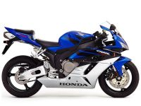 Honda CBR 1000RR 2005 - Blue/Black/Silver EU Version - Decalset