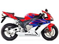 Honda CBR 1000RR 2005 - Rot/Blau/Silber EU Version - Dekorset