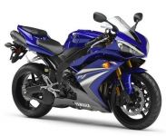 Yamaha YZF-R1 RN19 2007 - Blaue Version - Dekorset
