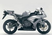 Honda CBR 1000RR 2006 - Silber Version - Dekorset