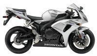 Honda CBR 1000RR 2007 - Silber Version - Dekorset