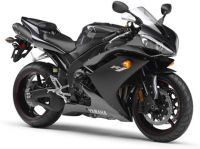 Yamaha YZF-R1 RN19 2007 - Graue Version - Dekorset