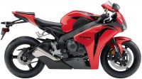 Honda CBR 1000RR 2008 - Rote Version - Dekorset