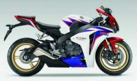 Honda CBR 1000RR 2010 - HRC Version - Decalset