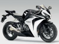 Honda CBR 1000RR 2010 - Weiß/Schwarze Version - Dekorset