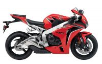 Honda CBR 1000RR 2011 - Rote Version - Dekorset