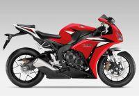 Honda CBR 1000RR 2012 - Rot/Schwarz/Weiße Version - Dekorset