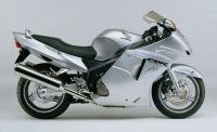 Honda CBR 1100XX 2004 - Silber Version - Dekorset