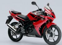 Honda CBR 125R 2008 - Rote Version - Dekorset