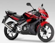 Honda CBR 125R 2009 - Schwarz/Rote Version - Dekorset