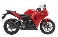 Honda CBR 250R 2013 - Rote Version - Dekorset