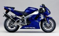 Yamaha YZF-R1 RN01 1998 - Blaue Version - Dekorset