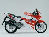 Honda CBR 600 F2 - Weiß/Rote Version - Dekorset
