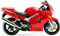 Honda VFR 800i 1998 - Rote US Version - Dekorset