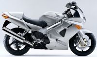Honda VFR 800i 1998 - Silber US Version - Dekorset