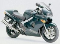 Honda VFR 800i 1999 - Grüne US Version - Dekorset