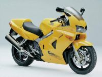 Honda VFR 800i 1999 - Gelbe US Version - Dekorset