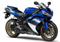 Yamaha YZF-R1 RN19 2008 - Blaue Version - Dekorset