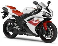Yamaha YZF-R1 RN19 2008 - White/Red Version - Decalset