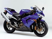 Kawasaki ZX-10R 2005 - Blaue Version - Dekorset