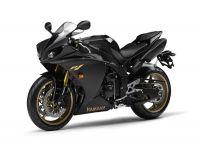 Yamaha YZF-R1 RN22 2009 - Schwarze EU Version - Dekorset