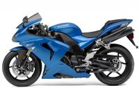 Kawasaki ZX-10R 2007 - Blaue Version - Dekorset