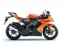 Kawasaki ZX-10R 2008 - Orange Version - Dekorset