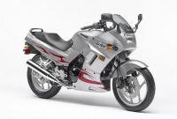 Kawasaki 250R Ninja 2007 - Silber/Chrome Rote Version - Dekorset