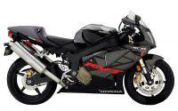 Honda RVT 1000R 2005 - Schwarz/Graue Version - Dekorset
