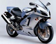 Kawasaki ZX-12R 2004 - Silber Version - Dekorset