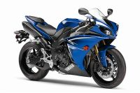 Yamaha YZF-R1 RN22 2009 - Blaue US Version - Dekorset