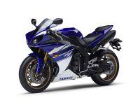 Yamaha YZF-R1 RN22 2010 - Blau/Weiße Version - Dekorset