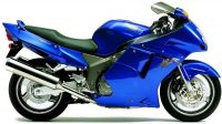 Honda CBR 1100XX 2000 - Blaue Version - Dekorset